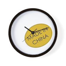 MadeInChina.png Wall Clock