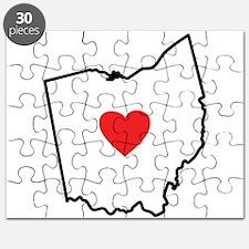 I Love Ohio Puzzle