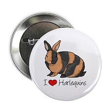 I Heart Harlequin Rabbits 2.25
