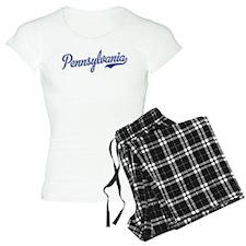 Pennsylvania Script Font Pajamas