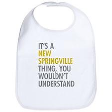 New Springville NY Thing Bib