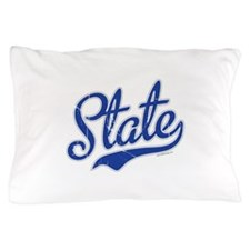 State Script Font Pillow Case