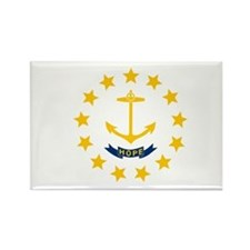 Rhode Island State Flag Magnets