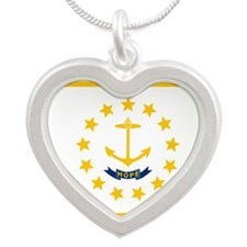 Rhode Island State Flag Necklaces