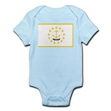 Rhode Island State Flag Body Suit