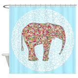 Elephant Shower Curtains