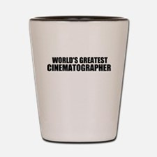 World's Greatest Cinematographer Shot Glass