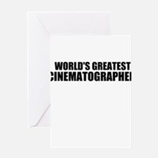 World's Greatest Cinematographer Greeting Cards