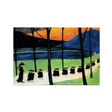 Marianne von Werefkin - Autumn Rectangle Magnet