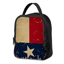 Texas State Flag Neoprene Lunch Bag