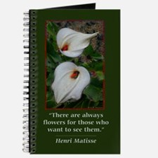 There are Always Flowers Journal