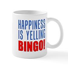 Happiness Yelling Bingo Mugs
