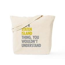 Staten Island Thing Tote Bag