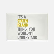Staten Island Thing Rectangle Magnet