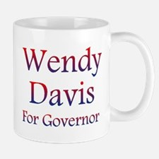 Wendy Davis for Governor Mugs