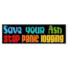 Save Your Ash Bumper Bumper Sticker