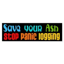 Save Your Ash Bumper Stickers