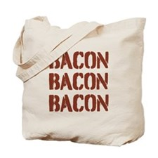 Bacon Bacon Bacon Tote Bag