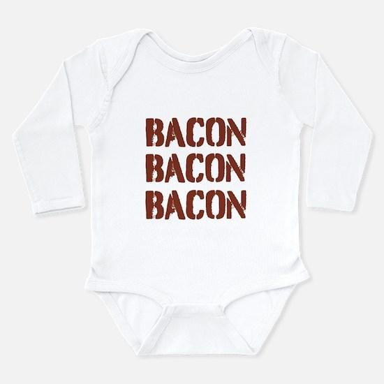 Bacon Bacon Bacon Body Suit