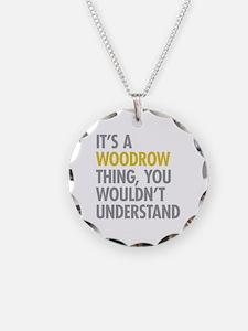 Woodrow NY Thing Necklace