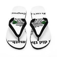 We cant afford Congress Flip Flops