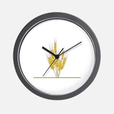 Wheat Wall Clock