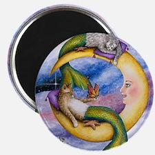 cat mermaid 29 Magnet