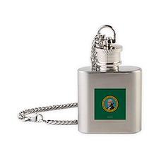 WA Flask Necklace