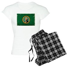 Washington State Flag VINTAGE Pajamas