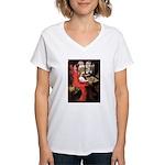 The Lady's Cavalier Women's V-Neck T-Shirt