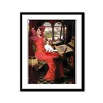 The Lady's Cavalier Framed Panel Print