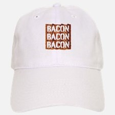 Bacon Bacon Bacon Baseball Baseball Baseball Cap