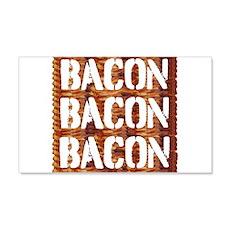 Bacon Bacon Bacon Wall Decal