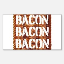Bacon Bacon Bacon Decal