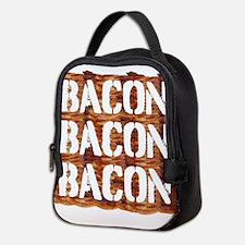 Bacon Bacon Bacon Neoprene Lunch Bag