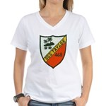 USS TAYLOR Women's V-Neck T-Shirt