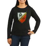 USS TAYLOR Women's Long Sleeve Dark T-Shirt