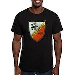 USS TAYLOR Men's Fitted T-Shirt (dark)