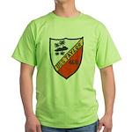 USS TAYLOR Green T-Shirt