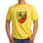 USS TAYLOR Yellow T-Shirt