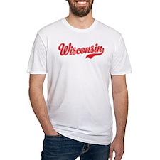 Wisconsin Script Font T-Shirt