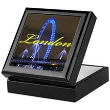 The London Eye - Pro photo Keepsake Box