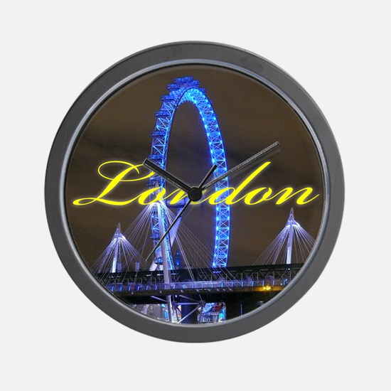 The London Eye - Pro photo Wall Clock