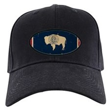 Wyoming Flag VINTAGE Baseball Hat