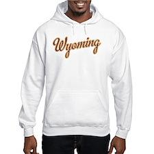 Wyoming Script Font Hoodie