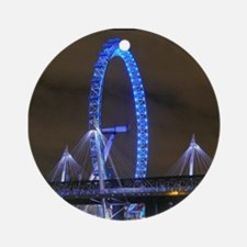 The London Eye - Pro photo Ornament (Round)