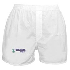 Libertarian Party Boxer Shorts