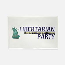 Libertarian Party Rectangle Magnet