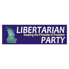 Libertarian Party Bumper Sticker