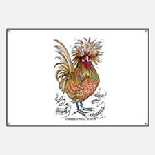 Chicken Feathers Banner